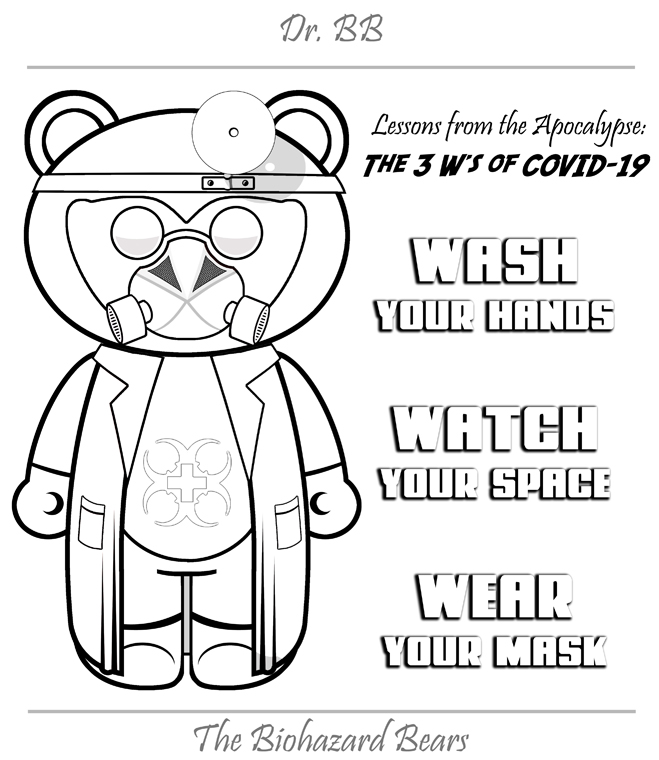 Teddy Of The Apocalypse And The Biohazard Bears